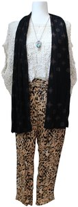 Free People Festival Harem Loose Summer Relaxed Pants Cheetah