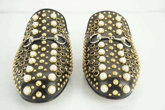 Gucci Princetown Studded Loafer Pearl black Flats Image 11