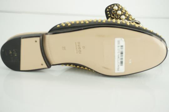 Gucci Princetown Studded Loafer Pearl black Flats Image 3