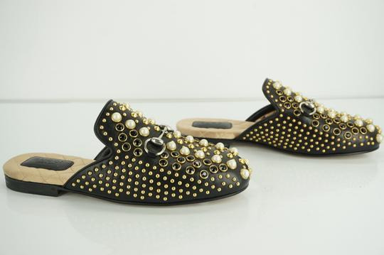 Gucci Princetown Studded Loafer Pearl black Flats Image 5
