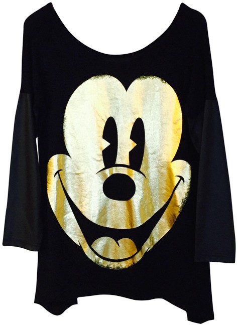 Preload https://img-static.tradesy.com/item/23561086/topshop-black-gold-disney-sweaterpullover-size-12-l-0-1-650-650.jpg