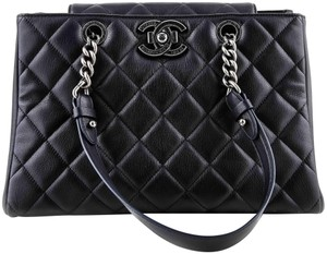 ab088f2e61be Chanel Quilted Shoulder Bag · Chanel. Shopping Quilted City Rock Navy Goat  Skin ...
