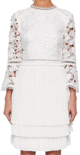 Preload https://img-static.tradesy.com/item/23561545/ted-baker-natural-stefoni-lace-bodice-pleated-short-formal-dress-size-6-s-0-12-650-650.jpg