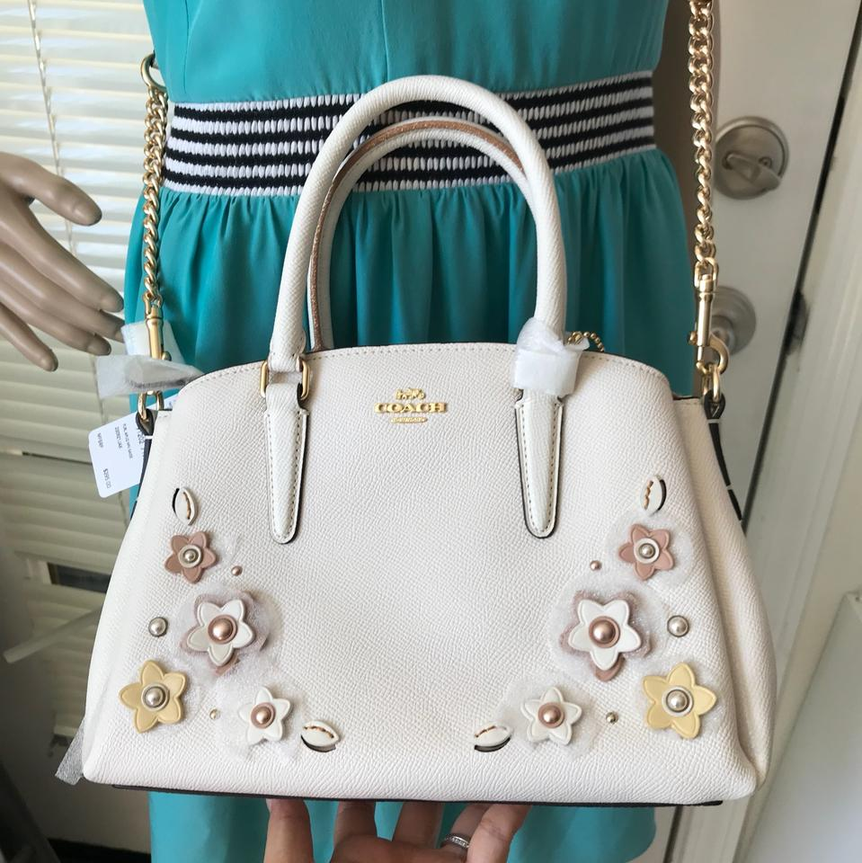 f2deee09fbbd Coach Mini Sage Carryall with Floral Applique F28974 Multicolor Leather  Satchel - Tradesy