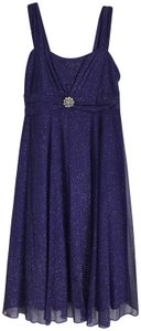 Ruby Rox Rayon Shimmery Crepe Overlay Dress