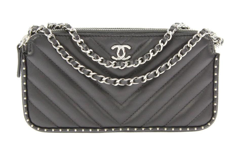 052f05042f0c Chanel Lambskin Woc Clutch On Chain Clutch Cross Body Bag Image 0 ...