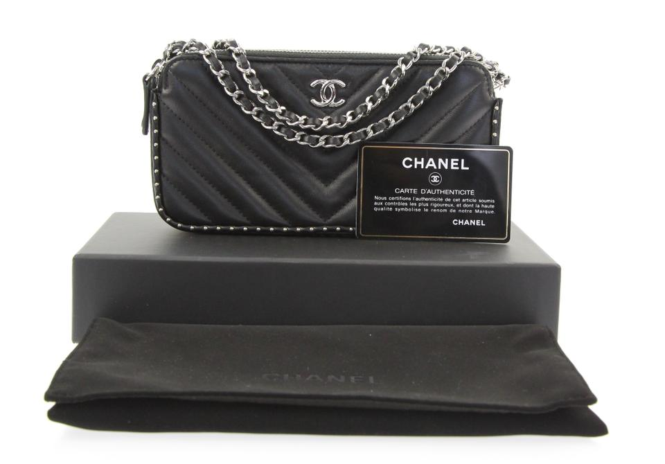 12a6ea29f412 Chanel Lambskin Woc Clutch On Chain Clutch Cross Body Bag Image 10.  1234567891011