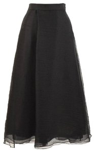 Dorothee Schumacher Tulle Formal Evening Silk Maxi Skirt Black