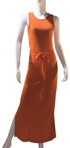 Orange Maxi Dress by Banana Republic