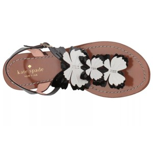Kate Spade black, white Sandals