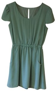 Pins and Needles short dress teal/mint green on Tradesy