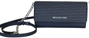 Michael Kors Wallet Clutch Saffiano Leather Cross Body Bag