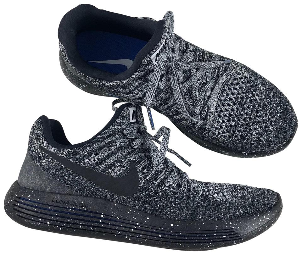 outlet store 84c23 26433 Nike Black Women's Lunarepic Low Flyknit 2 The Plush Contoured Midsole Is  Super Flexible So It Moves with You While Sneakers Size US 7 Narrow (Aa, N)  ...