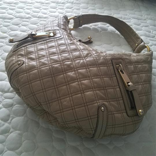 Marc Jacobs Quilted Leather Calfskin Hobo Bag Image 1