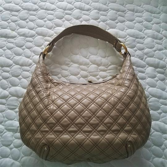 Marc Jacobs Quilted Leather Calfskin Hobo Bag Image 2