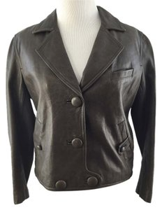 3.1 Phillip Lim Toupe Leather Jacket