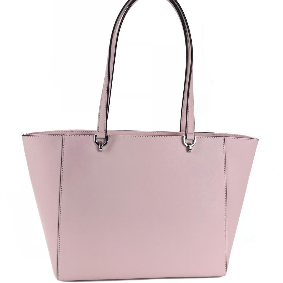 MICHAEL Michael Kors New Tina Lg Blossom Pink Leather Tote 63% off retail