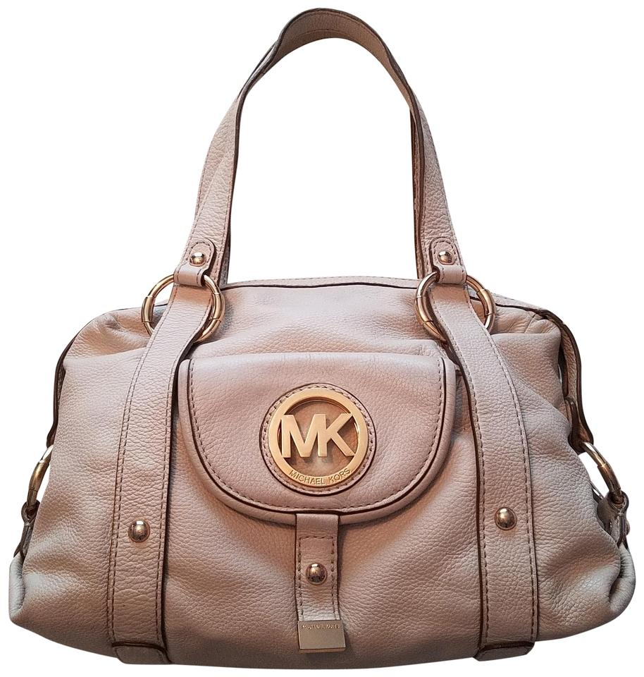 35ee31dac433 Michael Kors Fulton Satchel Desert Leather Shoulder Bag - Tradesy