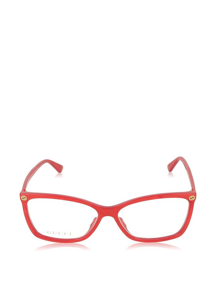 Gucci Red New Gg0025o Cat Eye Prescription Frames Sunglasses - Tradesy