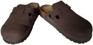 Birkenstock Betula Boston Sandals Brown Mules