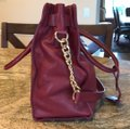 Michael Kors Satchel in Burgundy Image 2
