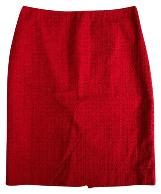 Preload https://img-static.tradesy.com/item/23564612/talbots-red-pencil-skirt-size-petite-2-xs-0-1-650-650.jpg