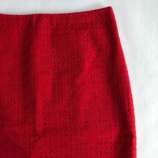 Talbots Skirt Red Image 2