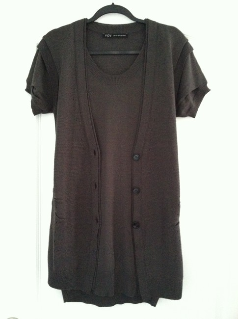 VOV short dress Carcoal on Tradesy