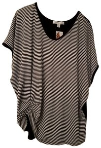 Karen Kane T Shirt Black/White