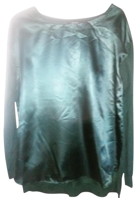Item - Green Sweater Blouse Size 12 (L)