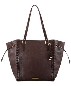 Brahmin Leather Extra Large Tote in Brown