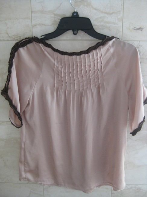 Lucca Top Taupe & brown Image 2