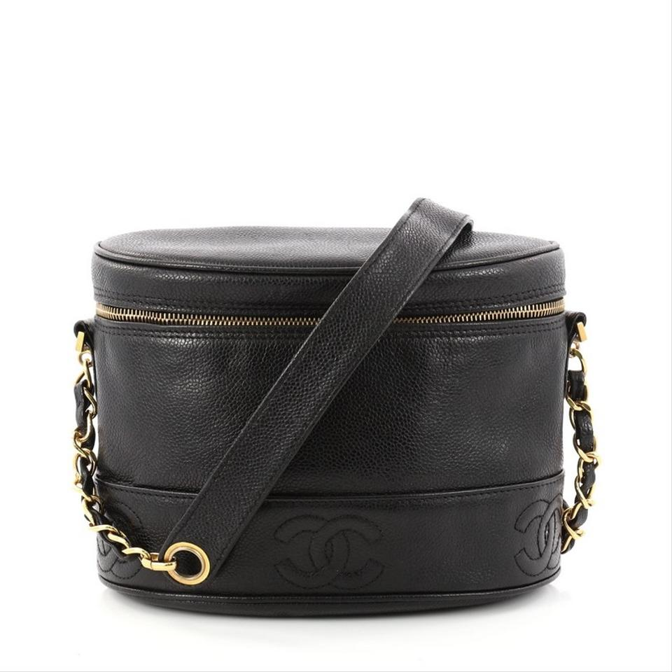 Chanel Crossbodybag Leather Cross Body Bag