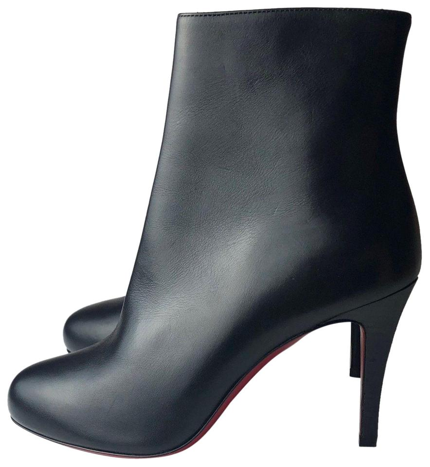 45128b28220a Christian Louboutin Black Bello 85 Calf Leather Ankle Boots Booties. Size  EU  35.5 ...