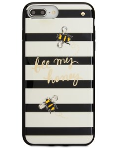Kate Spade Kate Spade Bee My Honey Embellished iPhone 7 and 8 Plus Phone Case