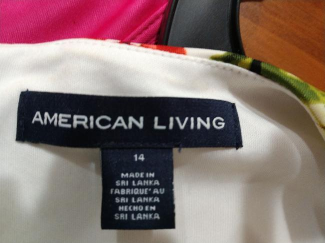 American Living Floral Casual Dress Image 1