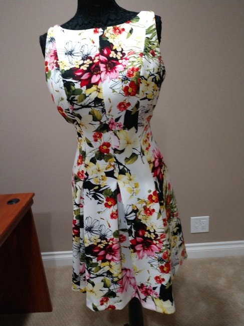 American Living Floral Casual Dress Image 2