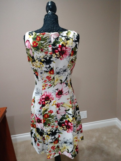 American Living Floral Casual Dress Image 3