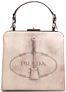 Prada Devil Wears Spazzolato Frame Doctor Satchel Shoulder Bag