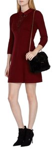 Karen Millen short dress burgundy on Tradesy