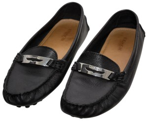 Coach Loafers Penny Loafers Moccasins Driving Black Flats