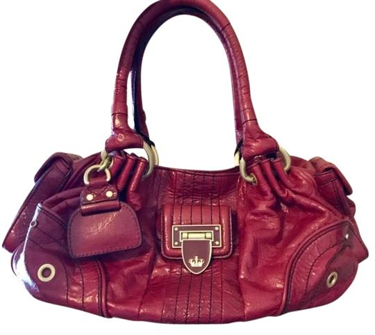 Preload https://img-static.tradesy.com/item/23566088/juicy-couture-signature-red-leather-baguette-0-1-540-540.jpg