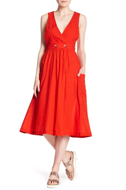 red Maxi Dress by Free People Image 1