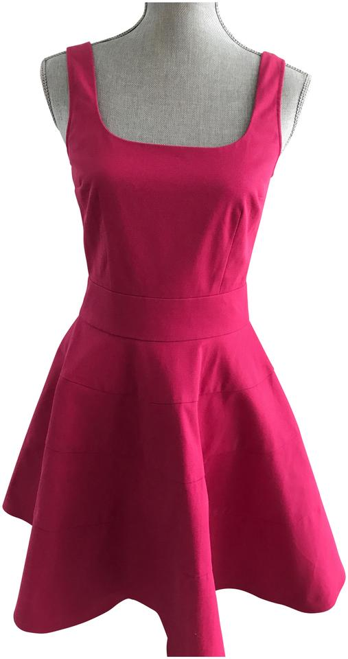 new styles 42f72 ef080 RED Valentino Fuchsia Abiti Donna A Line Short Cocktail Dress Size 4 (S)  77% off retail