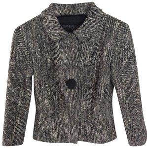 Giambattista Valli Gray Wool Jacket