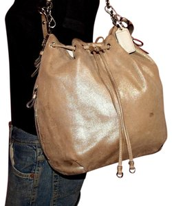 Coach Two-way Style Madison Marielle Color Excellent Condition Satchel in  buttery soft shimmery champagne 5299a4ca7460b
