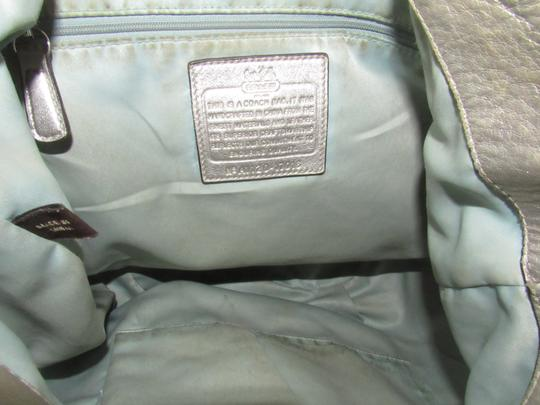 Coach Two-way Style Madison Marielle Color Excellent Condition Satchel in buttery soft shimmery champagne leather Image 2