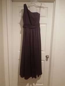 Vera Wang Bridal Amethyst Satin Vw360215 Formal Bridesmaid/Mob Dress Size 8 (M)