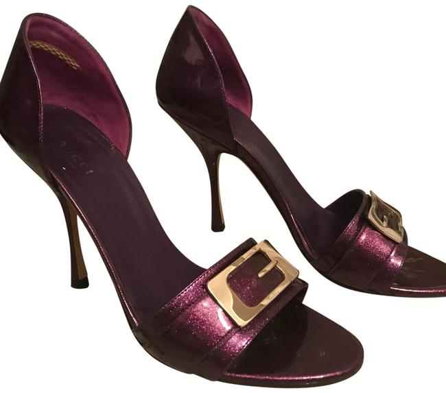 Item - Purple Vernice Glitter Pumps Size EU 39 (Approx. US 9) Wide (C, D)