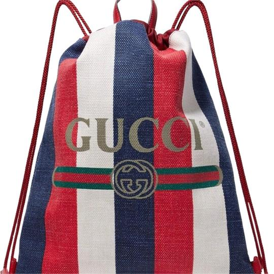 Preload https://item5.tradesy.com/images/gucci-leather-trimmed-printed-multiple-colors-leather-and-canvas-backpack-23567069-0-1.jpg?width=440&height=440